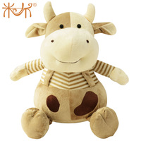 Cattle doll zodiac plush toy cow cartoon animal cloth doll gift toy