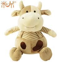 Cattle doll zodiac plush toy cow cartoon animal cloth doll gift toy