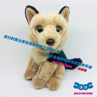 Plush german shepherd dog plush doll euprepocnemis animal toy decoration