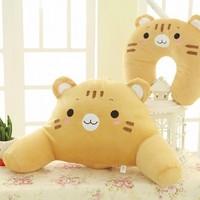 Cartoon u pillow animal cushion kaozhen neck pillow plush toy lumbar pillow set