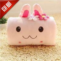 Momo rabbit cartoon hand warmer animal plush hand po pillow thermal winter muff