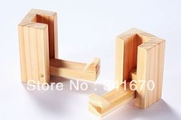 3PCS NEW Hinoki wood creative decoration coat hat hooks hanger wall Kitchen Bedroom Bathroom Home