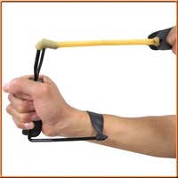 Free Shipping Factory Price Powerful Folding Wrist Sling Shot Slingshot Outdoor Hunting High Velocity Brace
