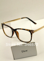 Free Shipping New Luxury b58 small rose gold vintage metal glasses frame myopia women's eyeglasses frame