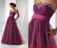 2013 New  Arrival Tube top  long design costume bridal   long formal dress  fromal sexy Wedding dress