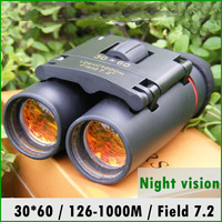 Free Shipping Factory Price Sakura LLL Night  Vsion 30 x 60 Zoom Optical Military Binocular Telescope (126m-1000m )100%NEW