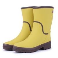{D&T Shop} 2013 Fashion Rain Boots Waterproof Women Wellies Boots Unisex Rain Boots Shoes Boots And Hiking Outdoor Free Shipping