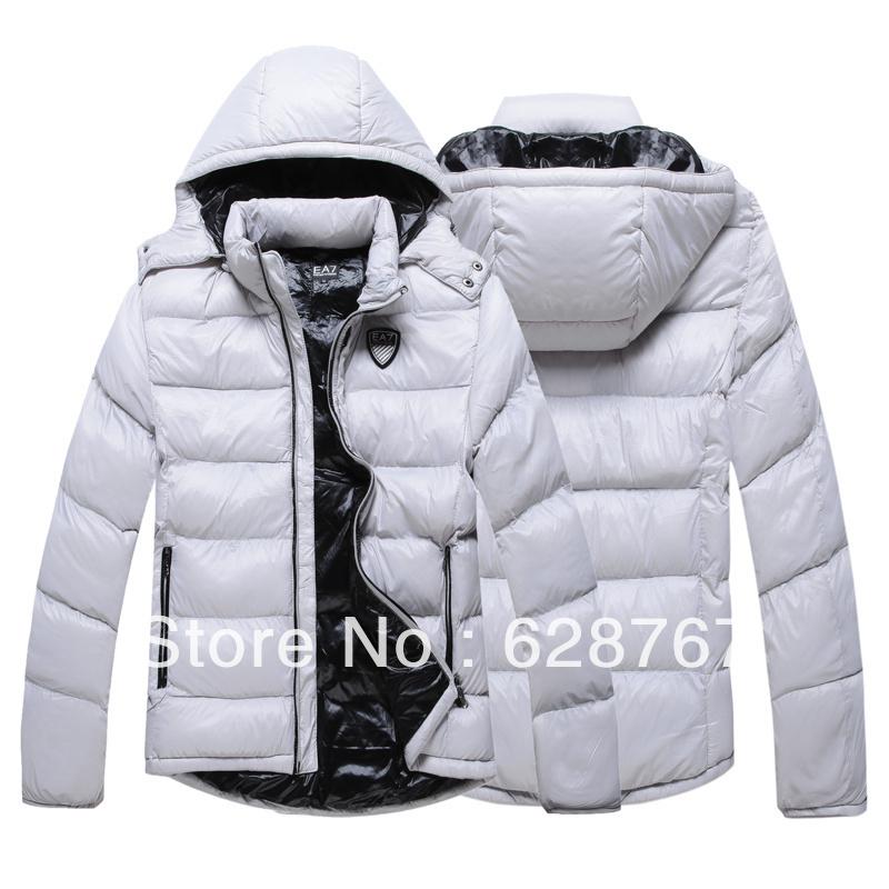 Мужская мода ea7 ветровки куртки пальто