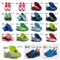 Free shipping 2013 Man And woman unisex shoes new style and fashion X90 running shoes 19 colour size 36-46
