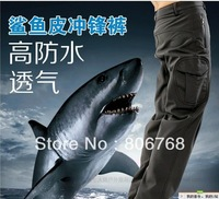Free Shipping Professional Men's Military Pants Man Quick Dry Waterproof Climbing Pants Ski Hiking Pants Plus Size