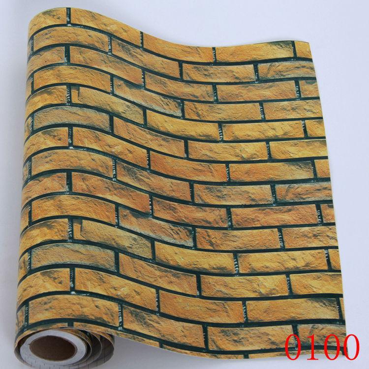 20170416&114056_Badkamer Muur Behang ~ behang vintage antieke baksteen behang woninginrichting badkamer muur