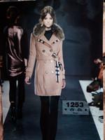 Top Quality Women Long Slim Wool Thickening Coats,Winter Ladies' Parkas Fur Collar  With Belt,Warm Brand Jackets Outwear Hoodies