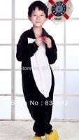 Kids black cat   onesies Pyjamas Cartoon Animal Cosplay Costume Pajamas Kids Onesies Sleepwear Halloween