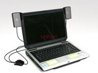 USB Portable Mini Stereo Speaker for 3in1 Laptop Soundbar Speaker system for Notebook Loud Speaker Retail Box
