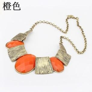 Min. order is $9 (can mix style) Fashion chain kolkatan 's vintage elegant gem ...
