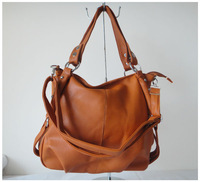 A99(orange)2014 Hot Sale popular women bags,40x27cm,advanced PU,5 different colors,shoulder straps,two function,Free shipping!