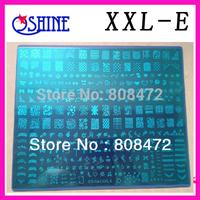 Konad New Stamping Big size Template XXL size XXL-E Designs Nail Art BigTemplate DIY