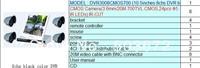 free shipping H.264 LCD DVR 8ch HDMI VGA 3G WIFI P2P free sofTware  full D1 DVR3008CMOS700