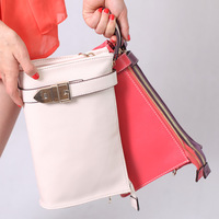 Free ship Fashion genuine leather day clutch new arrival genuine leather handbag women's