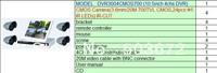 free shipping H.264 LCD DVR 8ch HDMI VGA 3G WIFI P2P free sofTware  full D1 DVR3004CMOS700