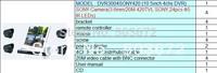 free shipping H.264 LCD DVR 8ch HDMI VGA 3G WIFI P2P free sofTware  full D1 DVR300SONY420