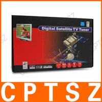 USB Digital Satellite DVB-S TV Tuner Receiver TV Box DiSEqC for PC AU Plug