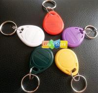 125Khz EM4100 RFID Cards Control Access Token Tags Keyring Proximity  ID Card keyfobs Keychain