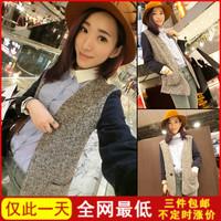 Vintage woolen 8610 brief patchwork woolen outerwear suit jacket