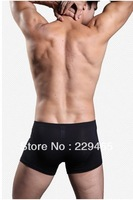 Modal pure male boxer underwear men's sheer shorts panties bulge large size boxer packs 2 pieces/lot sheath underwear fashion