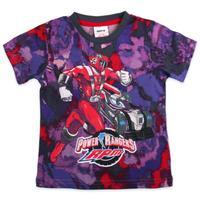 2014 new fashion Nova kids wear clothing  boy cotton short sleeve with Power rangers printing t shirts summer t shirt