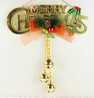 Christmas decoration supplies bell door letter hangings