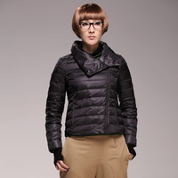 Broadcast sowing slim short design thermal down coat outerwear