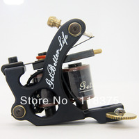 DHL Free Shipping 10pcs/lot 2013 New Arrival Iron Tattoo Machine Gun 10 coils For Shader TM-S004