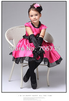 Retail Free shipping hot sale girl princess dress,kids evening dress,fashion children dress