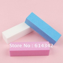 4 way colorful magic nail polishing buffer block for buffing and sanding file manicure nail tool Wholesales(China (Mainland))