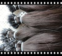 Top Quality Nano Rings Hair Extensions 300g (1g/s) 18''-28'' 100% Brazilian Virgin Remy Human Hair Free Shipping
