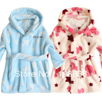 2013 new Korean boys and girls casual pajamas cartoon images free shipping