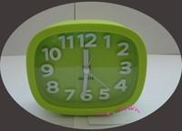 Green Fashion Mini Cute Portable Desk Table Office Alarm Clock