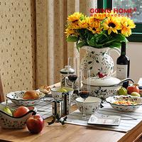 Pf ilicic berry ceramic tableware cup wavingness bowl lip soup pot wedding gift