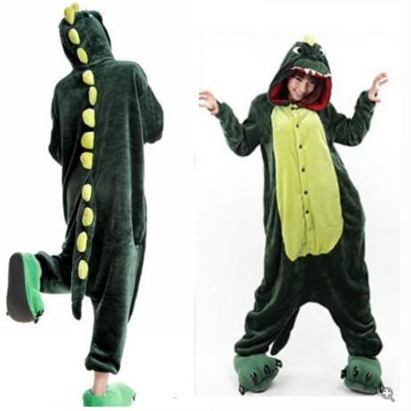 Adult Dinosaur Footed Pajamas 47