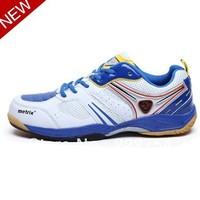 Squash shoes for men!Professional badminton shoes for men Men's Leather fabric comfort tennis shoes Men Sports shoes EURO39-45