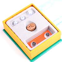 2013 CE hot High quality AXON K-86 Mini hearing aid invisible hearing aid ITE heaing Sound Amplifier soft ear plug free shipping