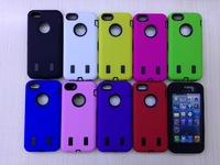 Colorful Heavy Duty Hybrid Rugged Hard Case with mirror film Cover For iPhone 5C