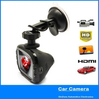 H 264 2.7 Inch Screen 1920x1080P Full HD Car DVR / 16X 5.0M CMOS Sensor Camera With HDMI SD Motion Detection Night Vision