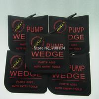 free shipping  LOCKSMITH TOOL lock pick set Universal Air Wedge PUMP WEDGE  (medium) door lock opener black colour