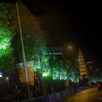 Hot Sell 4Pcs/Lot 100-240V/EU 50CM Colorful Meteor Shower Rain Tubes LED Christmas Light Holiday Xmas Decoration Lamp TK1329