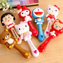 Free Shipping 5pcs/lot children's hair comb massage comb baby kids cartoon comb(China (Mainland))