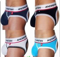 Free Shipping!!-AC11037 Sexy Briefs/ Mens Modal Briefs/ Men's Sexy Underwear/ 4 Colors