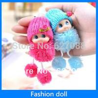 Fashion Doll mobile phone chain pendant plush doll toy cute gift Creative