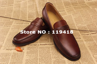 Free shipping mens shoes genuine leather brand men dress shoes men luxury shoes brown black leather formal wedding brand 39-45#
